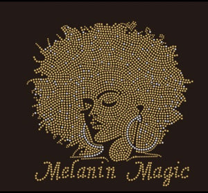 Melanin Magic Bling Tee