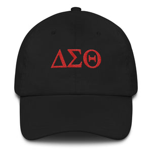 Delta Sigma Theta Low Profile Cap