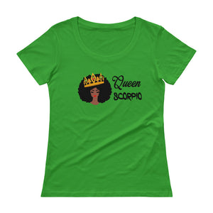 Queen Scorpio Scoop Neck Tee
