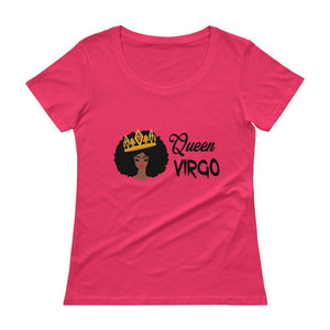 Queen Virgo Ladies Scoop Neck Tee