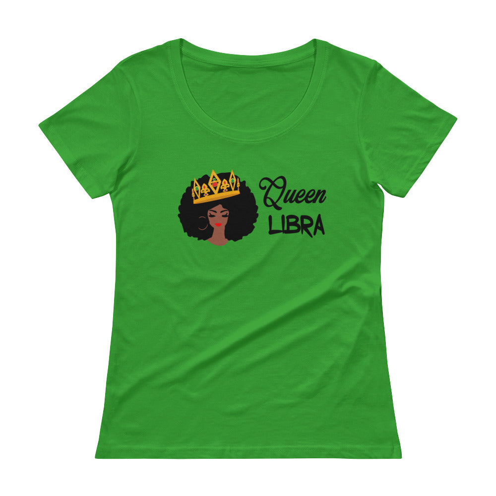 Queen Libra Scoop Neck Tee