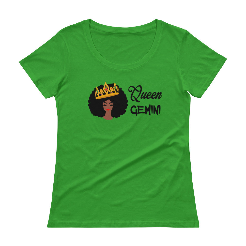 Queen Gemini Scoop Neck Tee