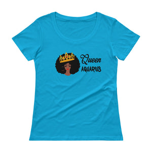 Queen Aquarius Scoop Neck Tee