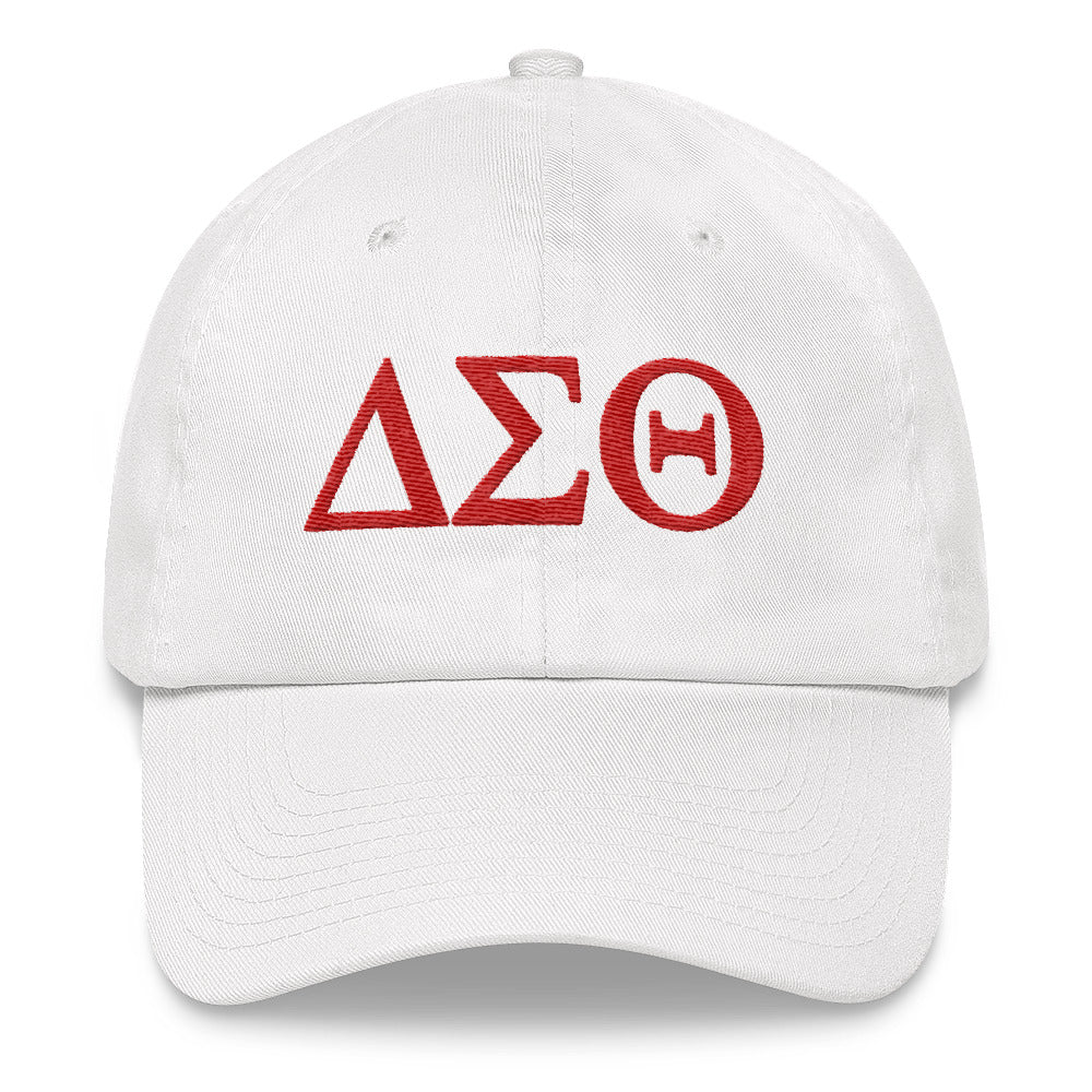 Delta Sigma Theta Greek Lettered Cap