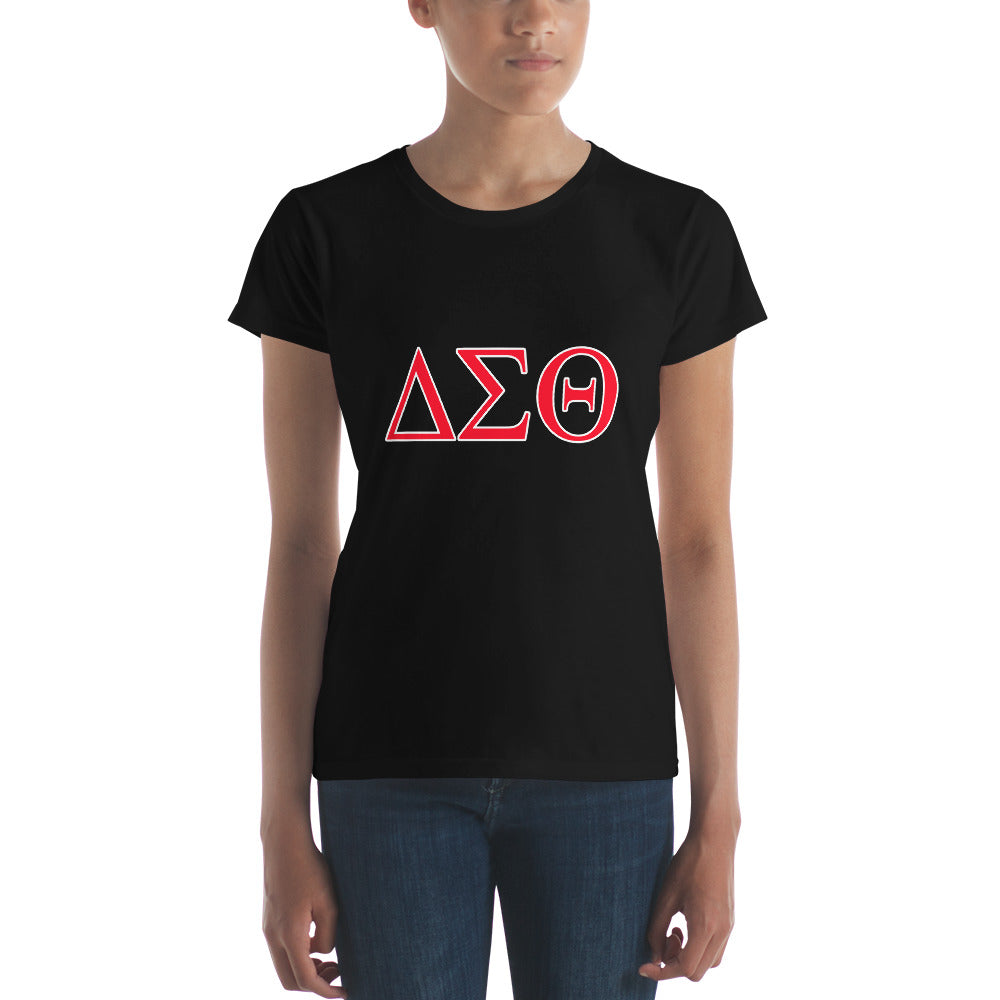 Delta Sigma Theta Short Sleeved Tee