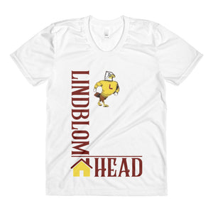 Lindblom Househead Sublimation women's crew neck tee