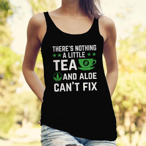 Women's Racerback Tank- Teacup
