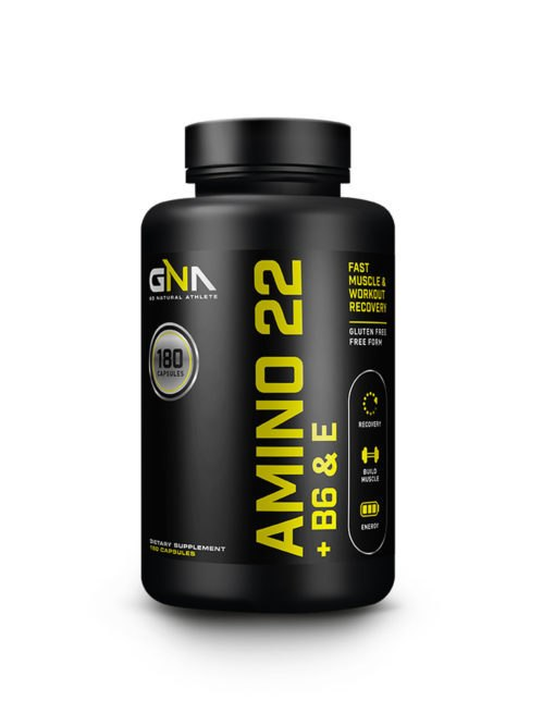 All Natural Amino 22 + Vitamins B6 & E