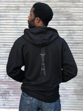 Sutro Tower at Night Zip Up Hoodie