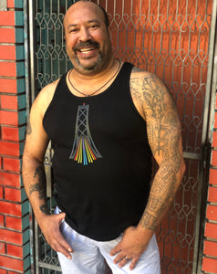 Bay Bridge at Pride Tank Top