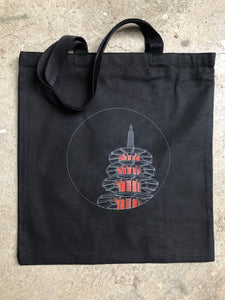 Japantown Peace Pagoda at Night Tote
