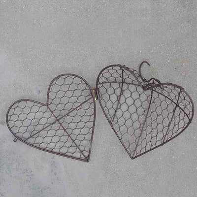 Suspended Heart-shaped Succulent Flower Pot
