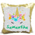 Personalized Unicorn Mermaid Sequins Pillow(WITH STUFFING)