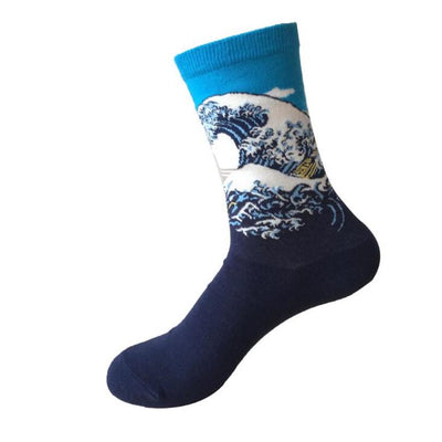 MEN'S EUROPEAN ART SOCKS