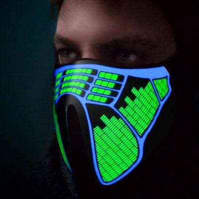 HALLOWEEN LED CYCLING MASKS