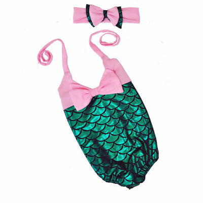 Kids Mermaid Swim Suit