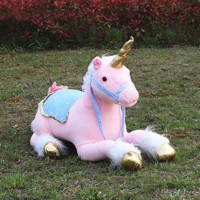 Giant Plush Unicorn Toy
