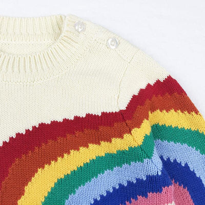 Rainbow and Sun Sweater For Boys and Girls