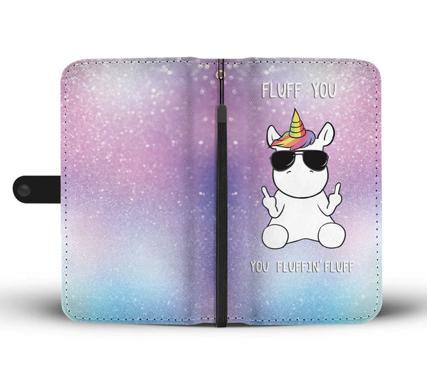 Unicorn Fluff You Wallet Phone Case