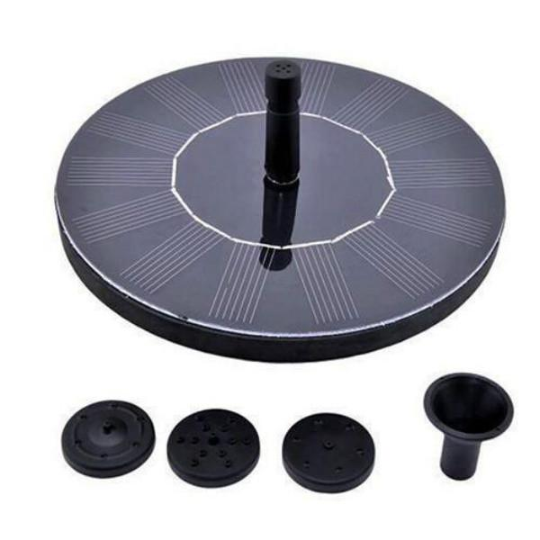 SOLAR POWERED EASY BIRD FOUNTAIN KIT