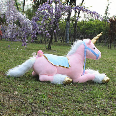 Jumbo Plush Unicorn Princess Toy