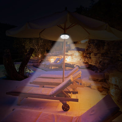 Patio Umbrella Lights(Rechargeable)