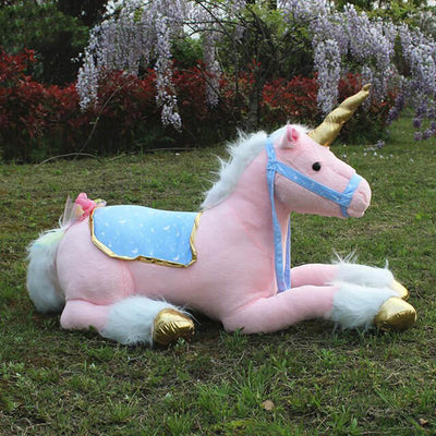 Large Plush Unicorn Toy