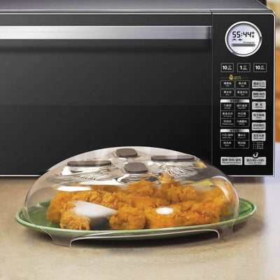 Magnetic Microwave Hover Anti-Sputtering Cover with Steam Vents | Dishwasher-Safe & BPA-Free