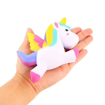 Slow Rising Kawaii Cute Soft Unicorn Squishy Toy For Stress Relief