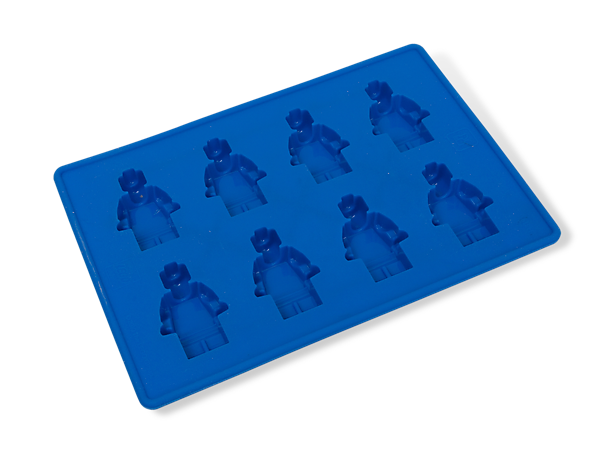 Lego®-compatible Building Brick Shaped Ice Cube Molds Tray