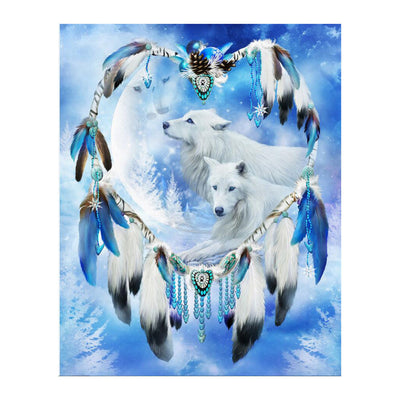 Fantastic Dreamcatcher Diamond Painting Kits(Size: 30*35cm )