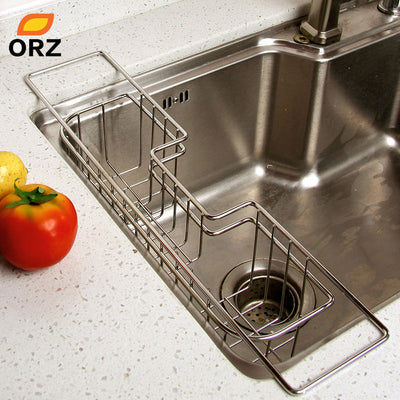 Over-The-Sink Kitchen Dish Drainer Rack