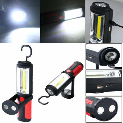 Multi-functional Rechargeable Magnetic Base LED Light