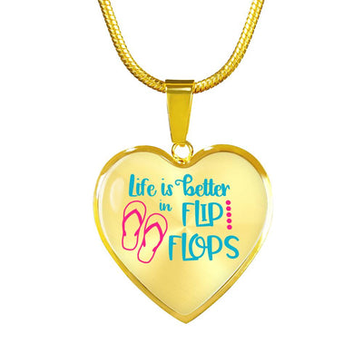 Life is better in Flip Flops Jewelry