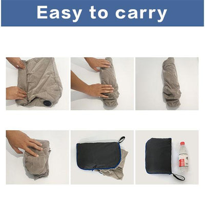 Air Travel Leg Rest Pillow for Resting Feet