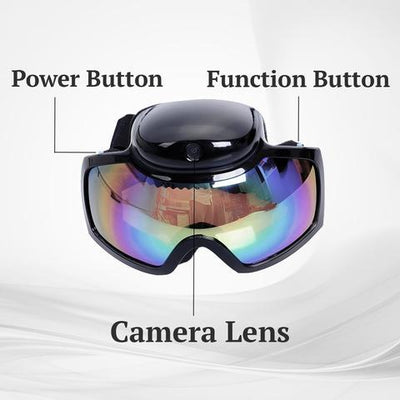 SnowCam™ HD 1080p Camera Goggles