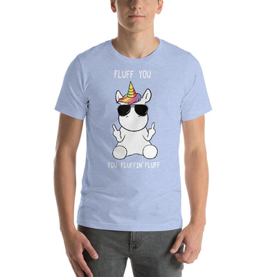 Unicorn Fluff You Short-Sleeve Unisex T-Shirt