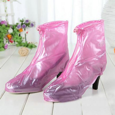 Waterproof Rain High Heels Shoes Covers