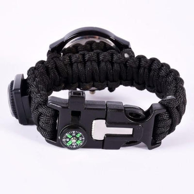 Emergency Survival Paracord Watch