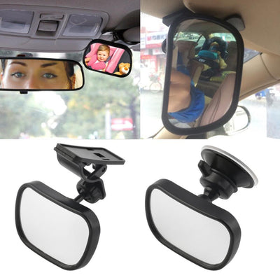 Car Rear Seat View Mirror