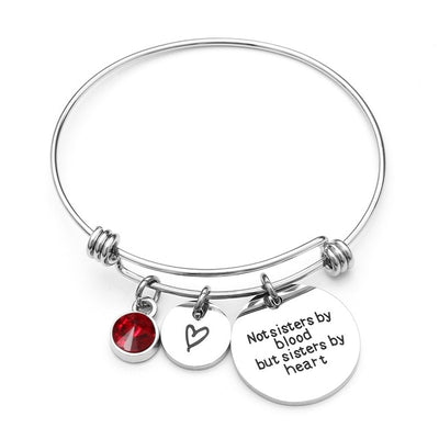 Best Friend Birthday Gift Birthstone Charm Bracelet