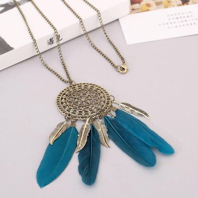 Native American Fringe Necklace