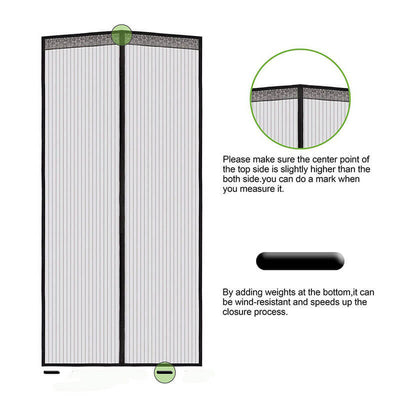 Reinforced Magnetic Screen Door