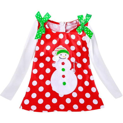 Winter Girl Happy Merry Christmas Dress! 50% OFF!!