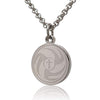 Prayer Necklace Crafted in Stainless Steel with Luke 1:37 on The Back