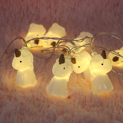 Colorful Unicorn String Lights (Set of 10)