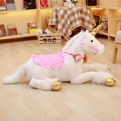 Jumbo Plush Unicorn Toy