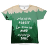 And into the forest All Over Print Tee
