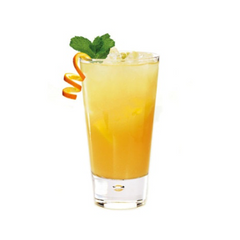 Antihangover cocktail with Galliano and turmeric