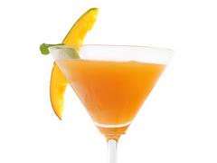 Antihangover cocktail with Grey Goose vodka and turmeric